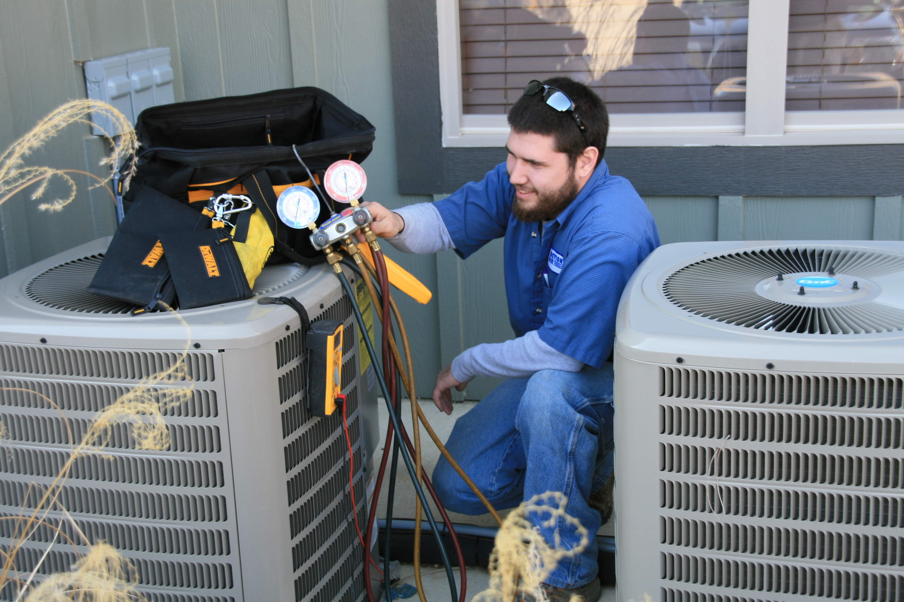HVAC, Heating Venting Cooling Central Air Conditioning Systems Service & Repair