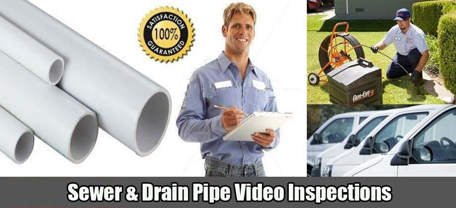 Sewer Camera High Definition Color Video Inspections New Jersey