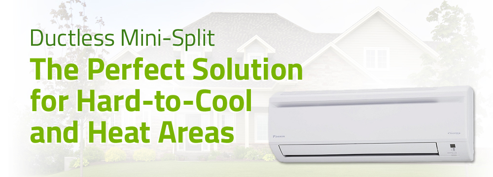 Ductless Split Air Conditioners Replacement & Installation