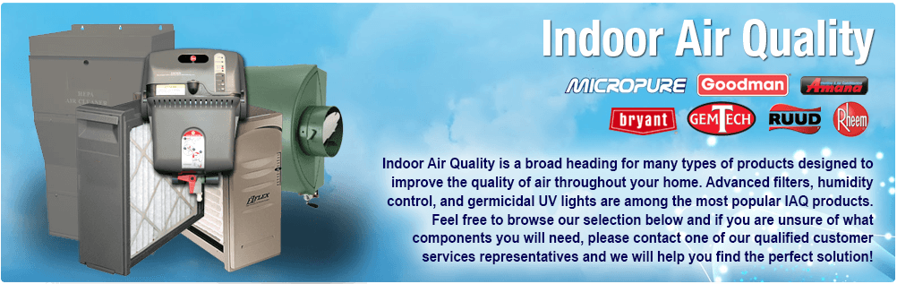 Indoor Air Quality IAQ Products New Jersey Heating Cooling Air Condition