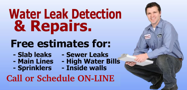 Sewer Leak Detection & Service Services Residential Inspection Water Leaks New Jersey - King Arthur Plumbing