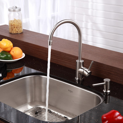 Install a Kitchen Faucet Replace a Bathroom