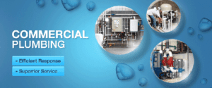 Commercial plumbing provides installation or repair services of industrial plumbing and fire sprinkler systems