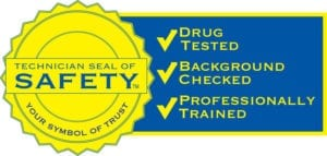 Our Plumbing Technicians Background Checked Drug Tested