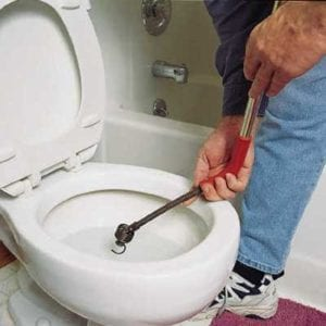 Fix a Clogged Toilet