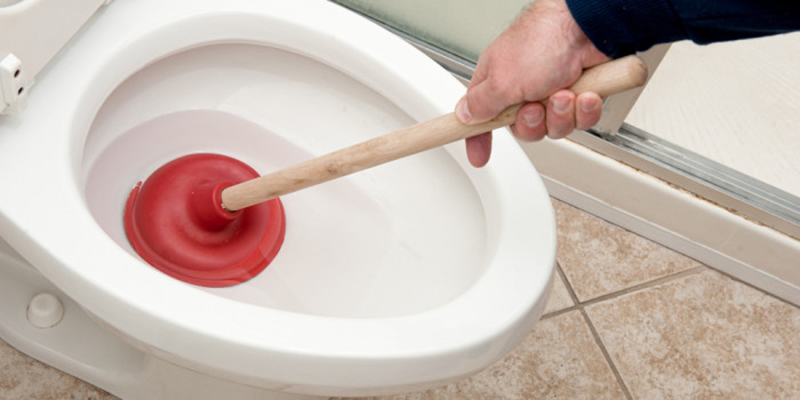 Unblocking a Toilet