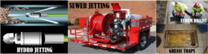 Commercial Services sewer jetting storm drains grease traps