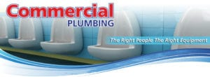 Commercial Services plumbers drain cleaning heating air conditioning