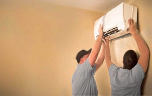 Ductless Mini Split Conditioning Systems Installation