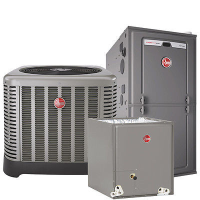 High Efficiency Air Conditioning & Furnace Complete System Installation