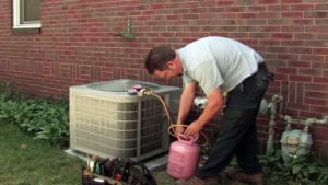 Air Conditioning Refrigerant Recharge