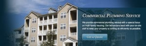Multi Family Commercial Plumbing Services NJ Plumber New Jersey Water Heaters