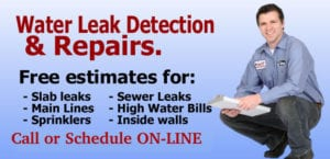 Sewer Leak Detection & Service Services Residential Inspection Water Leaks - King Arthur Plumbing